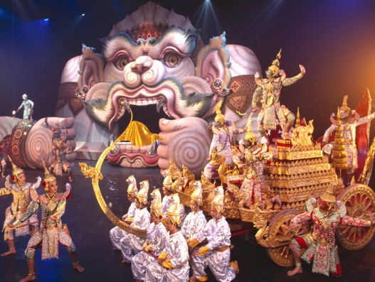Phuket FantaSea Show Amazing Performers Dancers Asia Thailand Banita Tour