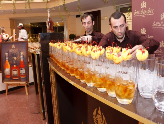 ArArAt and the Golden Apricot Brandy Armenia Yerevan Banita Tour