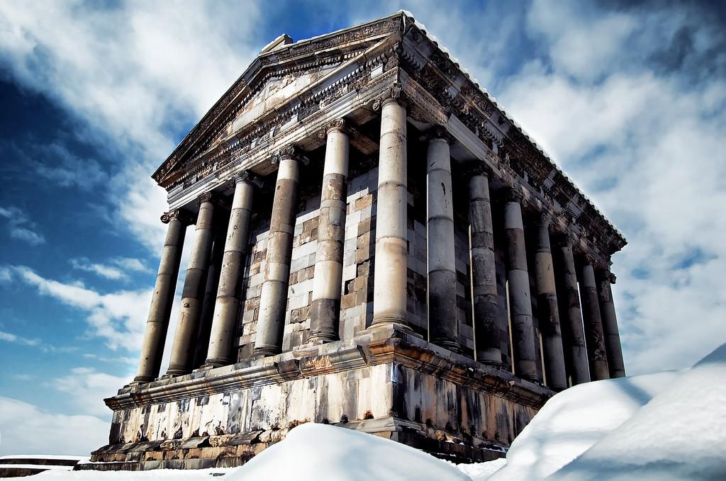 Garni temple Armenia Banita Tour