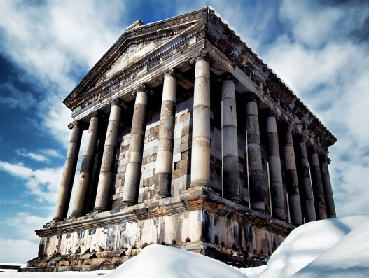 Garni temple Armenia Banita Tour