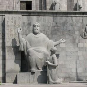 Matenadaran - one of the biggest depositors of ancient manuscripts Yerevan Armenia Banita Tour