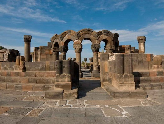 Zvartnots Temple (7th century) Armenia Banita Tour