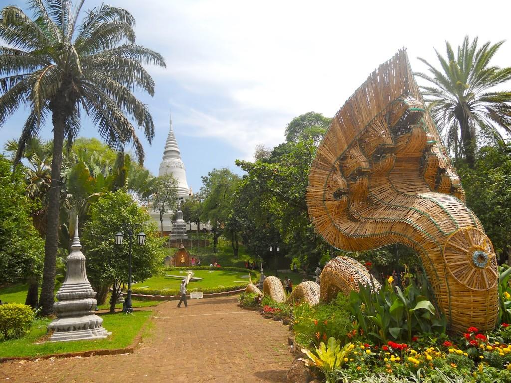 Wat Phnom, Cambodia, Asia, Banita Tour