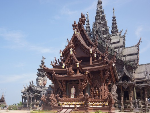 sanctuary of truth, temple, wooden, shrine, pattaya, religious , Banita Tour