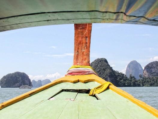 thailand, tour krabi, long boat, boot, skyline, ship, sea, holiday, asia, sky, water, travel, Banita Tour