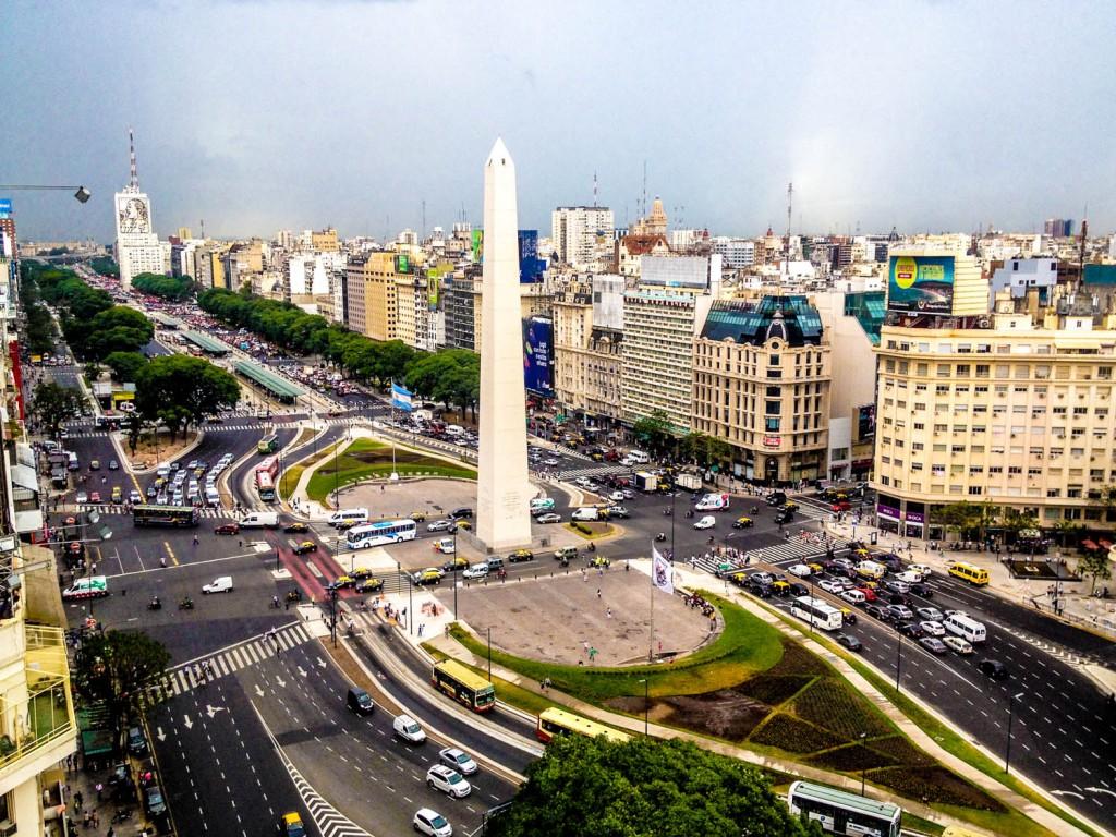 Capital Buenos Aires Argentina America Banita Tour