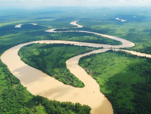 Lower Kinabatangan river Segama Wetlands Malaysia Asia banita Tour Operator