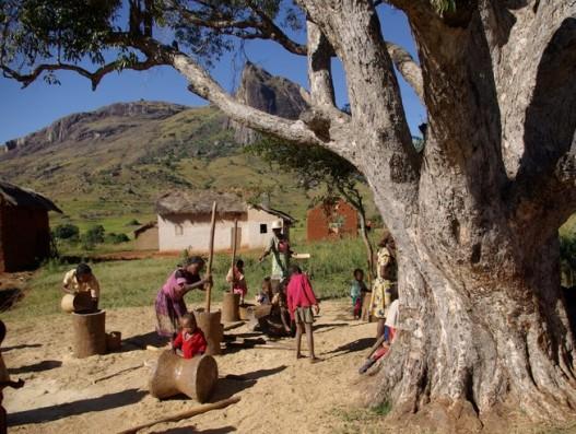 Madagascar-village