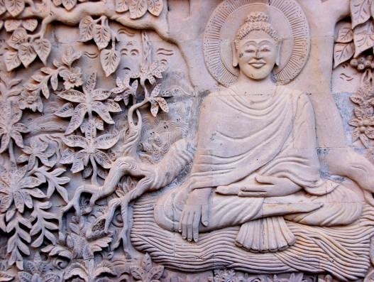 Buddha Carving Thailand Asia Architecture Banita Tour