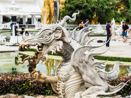 Wat Rong Khun White Temple Banita Tour Travel  Thailand Asia