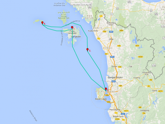 Magical Cruise to Malaysia and Thai Islands Banita Tour
