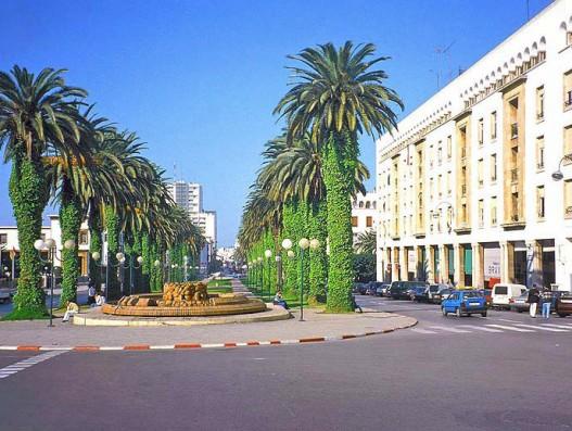 Morocco_Rabat_Boulevard