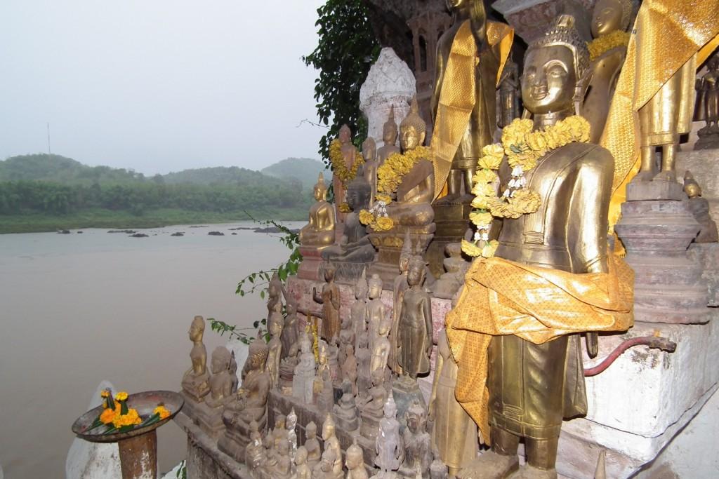 Pak Ou Caves Laos Asia Banita Tour