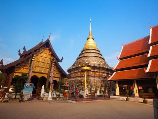 Wat Phra That Lampang Luang Thailand Asia Banita Tour Temple Tourism