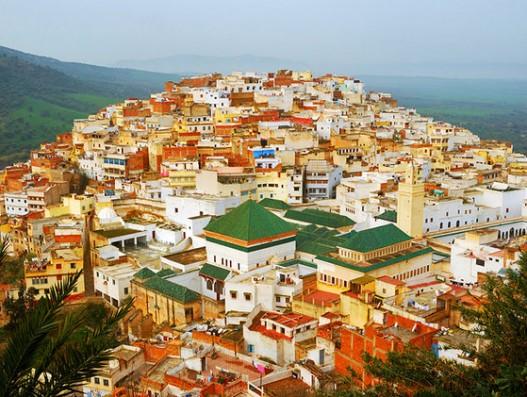 morocco-meknes-moulay-idriss-panorama