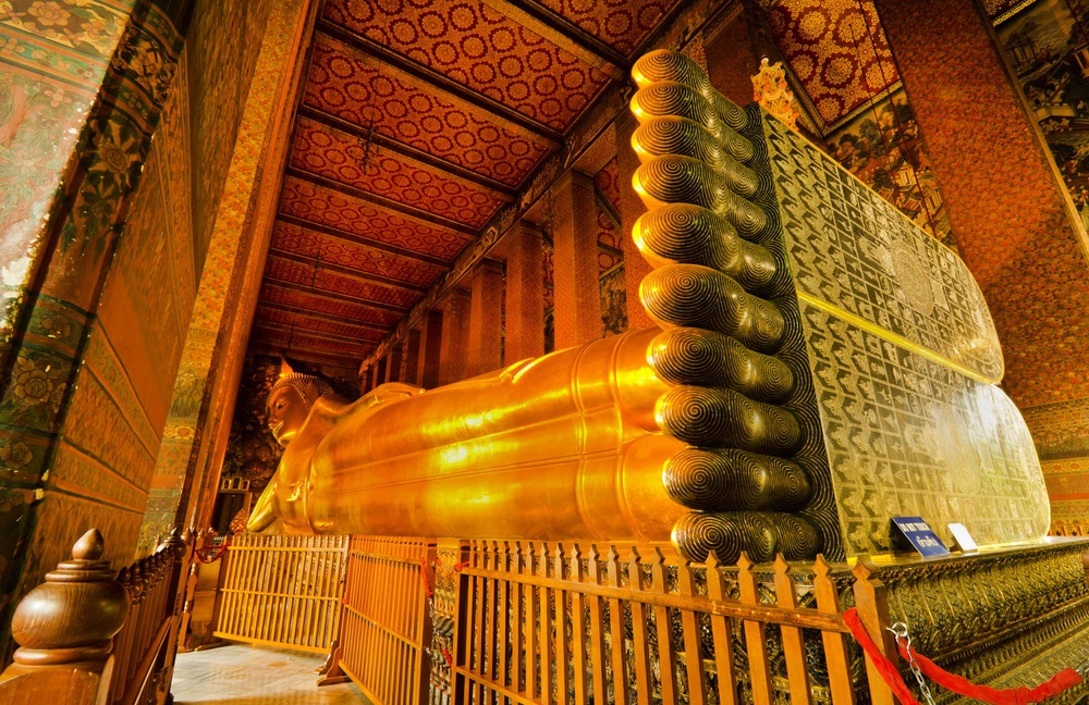 Храм Ват Пхо Wat Pho Phuket Asia Thailand Budha Statue Banita Tour