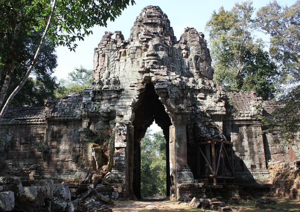 Angkor Thom Cambodia Banita Tour