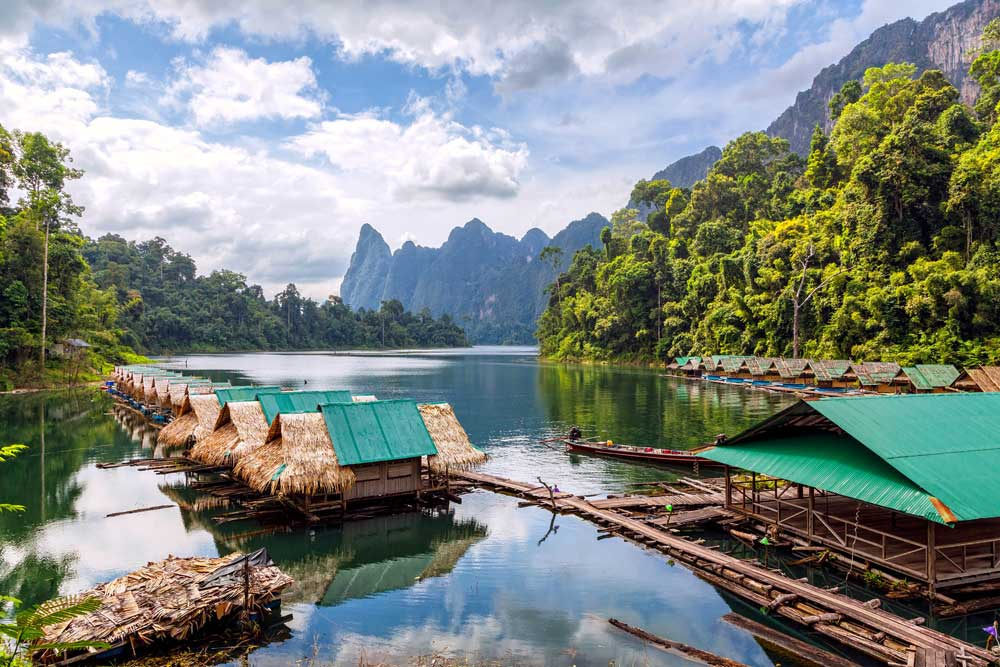 Float your cares away on Cheow Lan Lake Thailand Khao Sok Phuket Asia Banita Tour