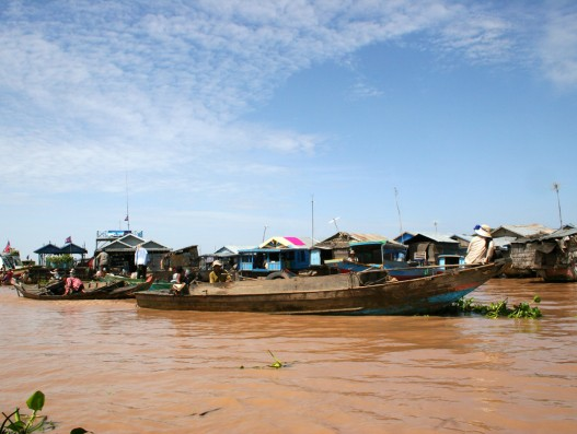 Floating Villages At Tonle Sap Lake In Cambodia Banita Tour