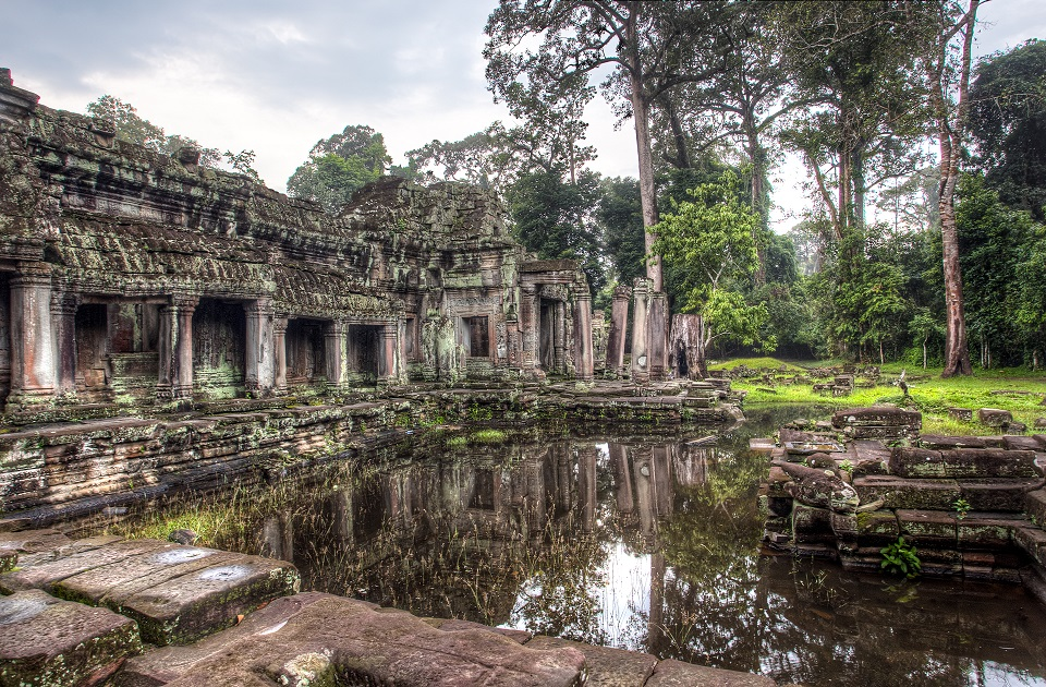 Preah Khan, Temple of the Sacred Sword, Siem Reap, Cambodia Asia Banita Tour