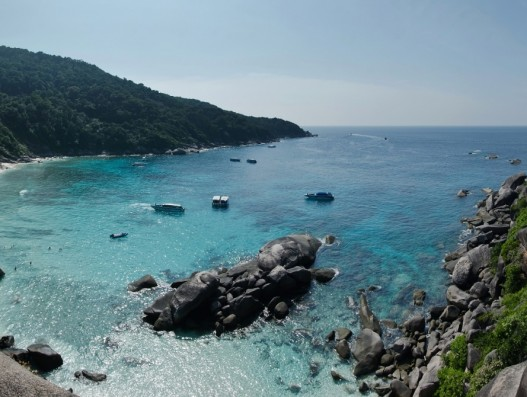 Similan Islands of Thailand Asia Banita tour beach vacation trip holiday Phuket