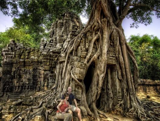 The temple of Ta Som Cambodia Asia Banita Tour