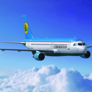 Uzbekistan Airways Airplane flight to Asia Thailand bangkok Banita Tour