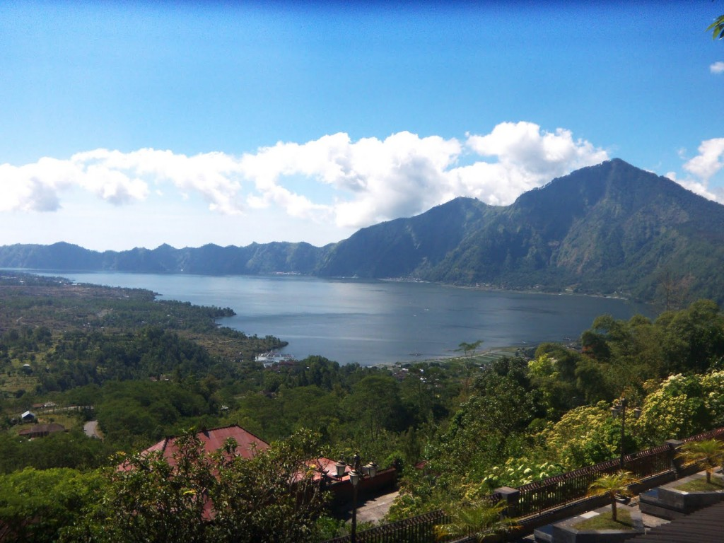 town Kintamani, volcano view bali indonesi banita tour