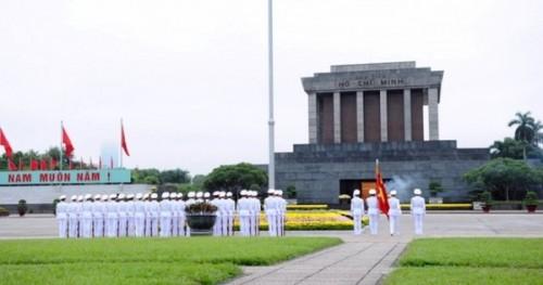 Святая святых Вьетнамских комунистов - Площадь Бадинь (Ba Dinh Square)