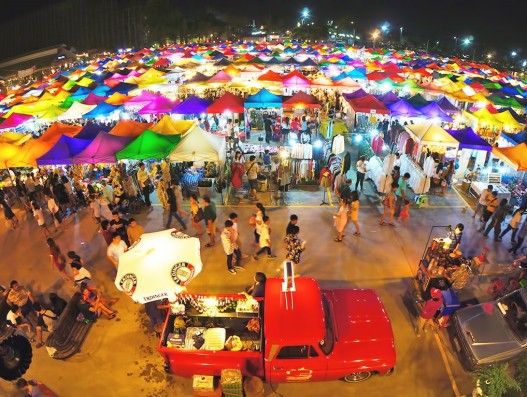 Night Markets in Bangkok Thailand Banita Tour Travel tourism