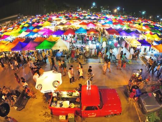 Night Markets in Bangkok Thailand Banita Tour Travel tourism