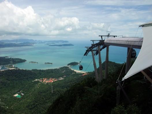 Ganang Mat Saynkang the cable car Langkawi malaysia banita tour operator