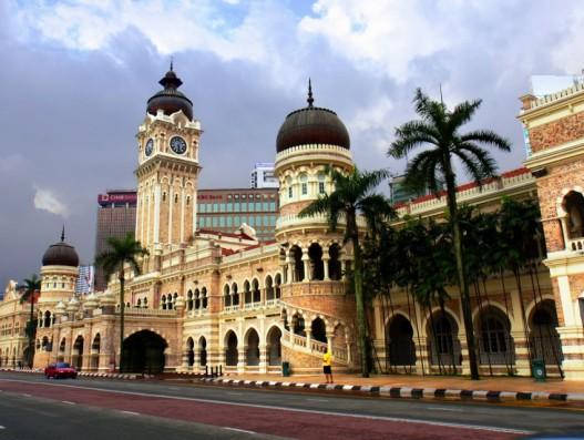 Independance square Malaysia Aaia Banita Tour
