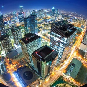 Manila Philippines City View Ariel Banita Tour Travel