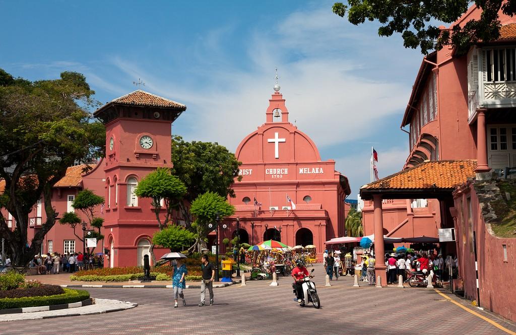 Melaka Red Square malaysia tour banita travel asia