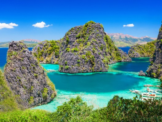 Philippines El Nido beach view ariel Banita Tour Travel Operator
