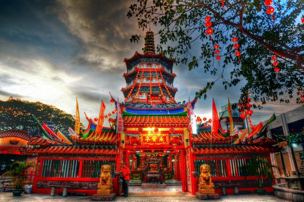 Tua Pek Kong Temple Sarawak Malaysia Asia Banita Tour