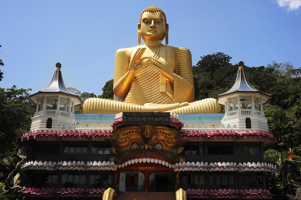 Golden Temple of Dambulla, Sri Lanka Asia Banita Tour