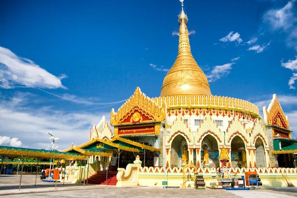 Kaba Aye Pagoda, Yangon Myanmar Asia Banita Tour