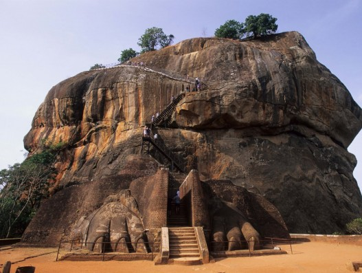 The Lion Gate Sri Lanka Asia Banita Tour