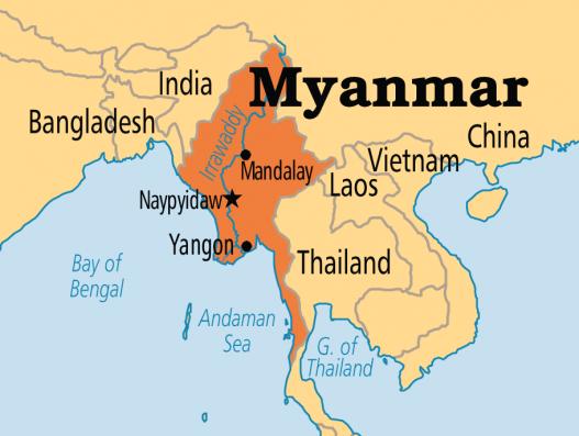 Mjanmas tūre ar banita tour