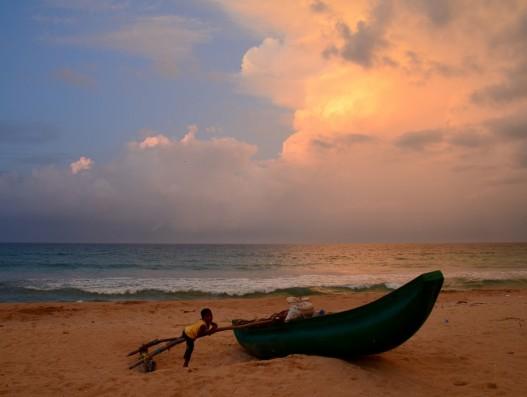 Sri Lanka Colombo Beach