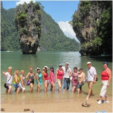 Fam trip to Thailand from Banita Tour 2