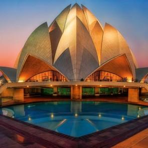 Lotus Temple New Delhi banita tour india
