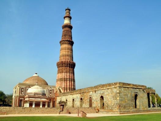 Qutub Minar delhi india banita tour operator