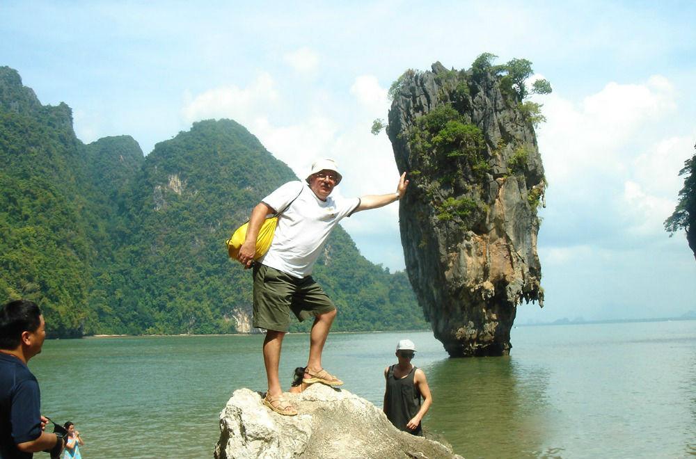 Valerij Tourist Banita Tour Thailand Asia Phi Phi James bond Island
