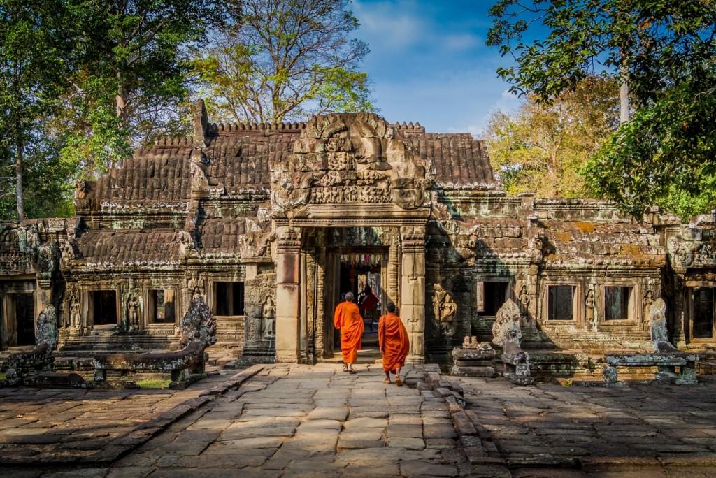 Angkor Wat Old Asia Cambodia Temple Ruin Architecture Bayon Culture Banita Tour