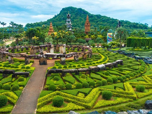 Nong Nooch Tropical Botanical Garden Thailand Banita Tour