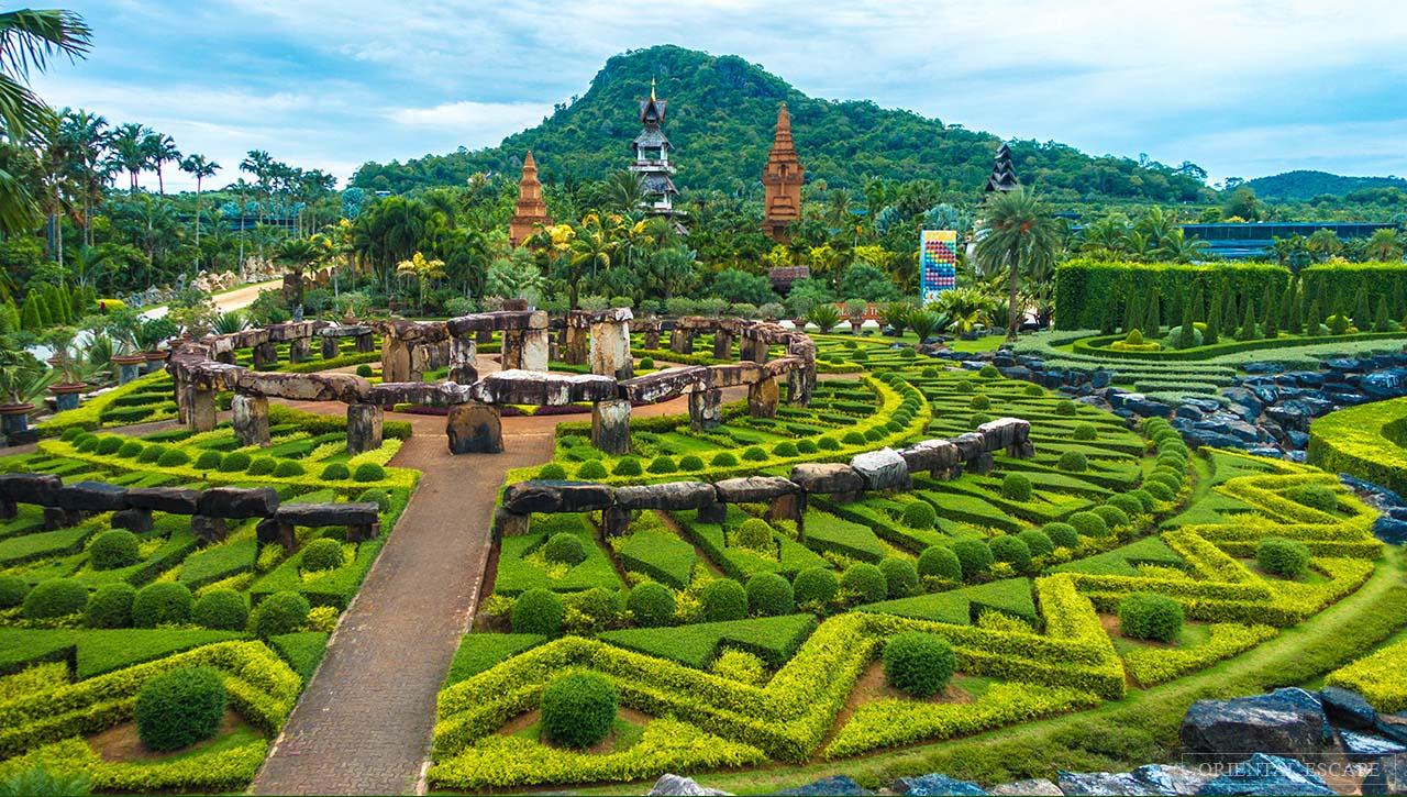 nong nooch tropical botanical garden thailand banita tour | banita