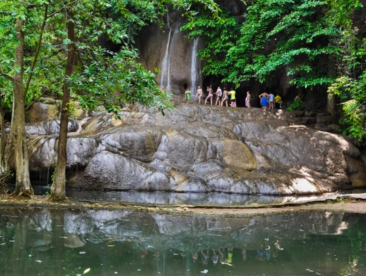 Водопад Сайок Ной Thailand Asia Banita Tour trip to the waterfalls